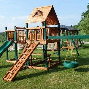 Как оборудовать дома детские игровые и спортивные комплексы