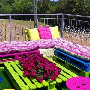 Как покрасить садовую мебель
