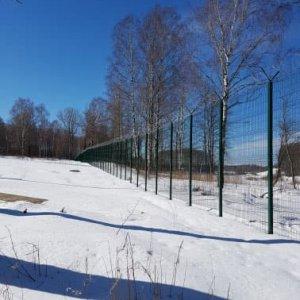 Современный забор