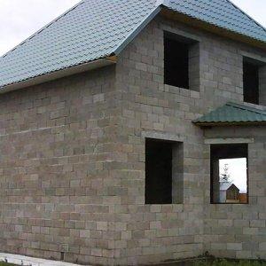 Дом из шлака