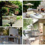 Дизайн кухни на улице: печи для пиццы, камины и другие аксессуары