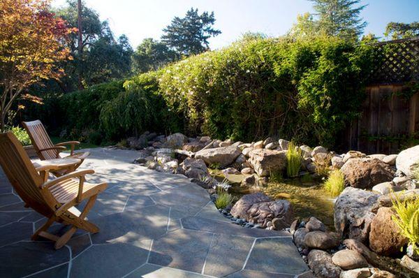 водоемы и фонтаны в саду (1)
