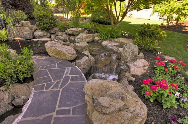 водоемы и фонтаны в саду (2)