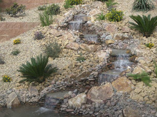 водоемы и фонтаны в саду (4)