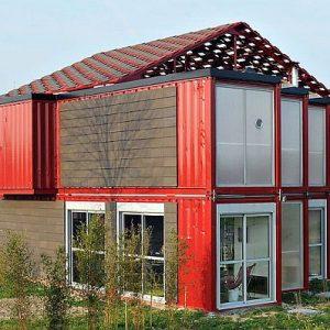 дом из транспотрных контейнеров (8)