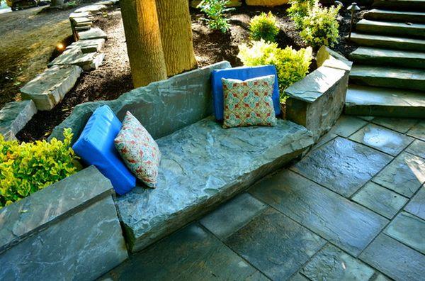 каменная скамья (2)