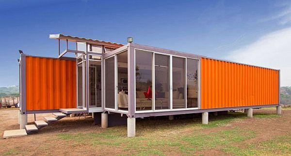 модульные дома из блок контейнеров