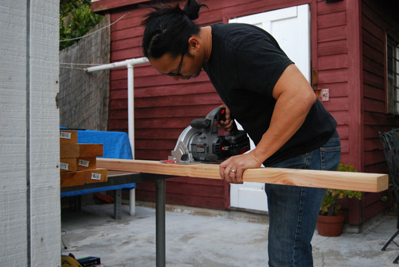 строительные козлы своими руками