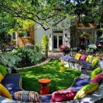 10 способов как своими руками подготовить и украсить сад весной