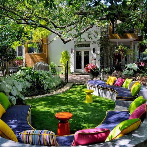 Уютные дворики своими руками