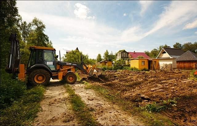 выбор и обследование участка под строительство дома