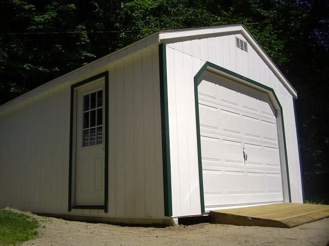 Постройка навеса гаража