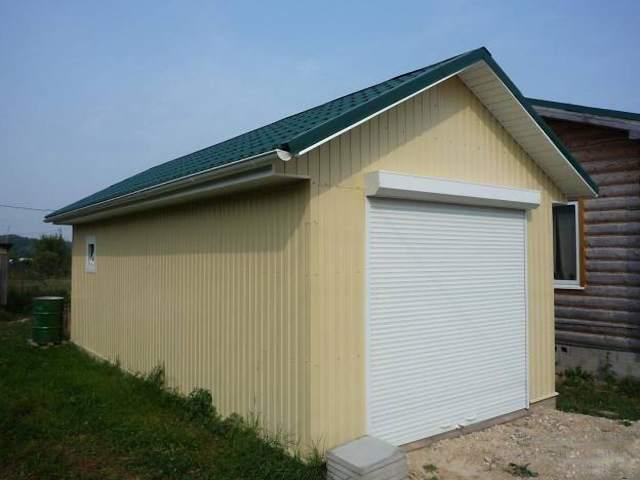 Как сделать гараж своими руками