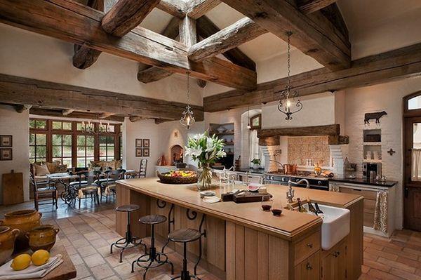 Кухня в деревенском стиле кантри (1)