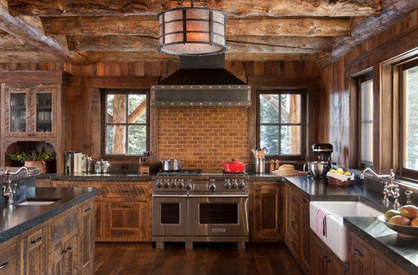 Кухня в деревенском стиле кантри (5)