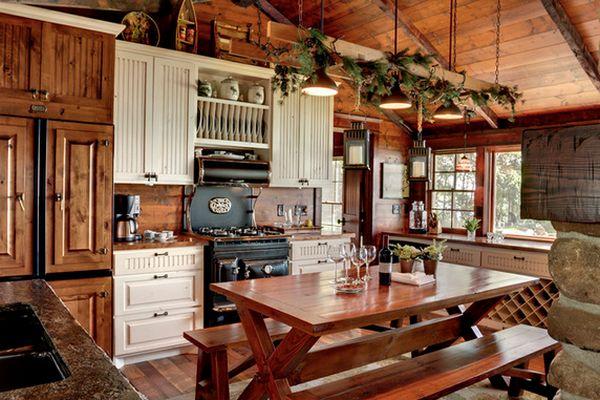 Кухня в деревенском стиле кантри (6)