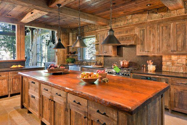 Кухня в деревенском стиле кантри (7)
