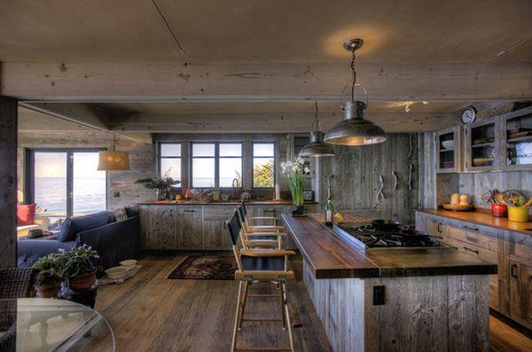 Кухня в деревенском стиле кантри (9)