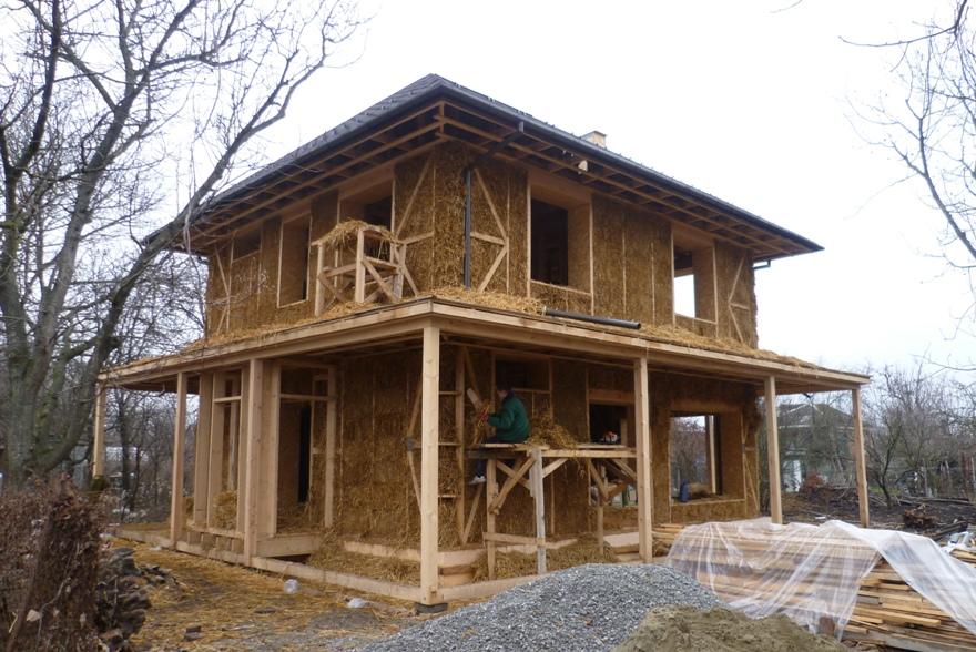 дом из соломы своими руками (1)