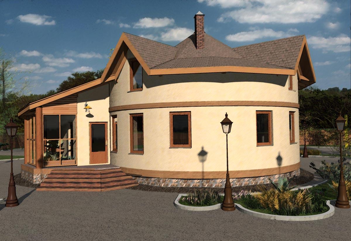 дом из соломы своими руками (3)