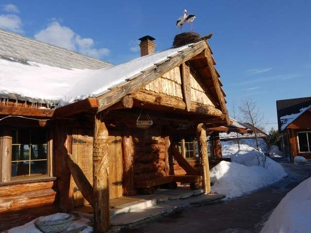 дубовый дом