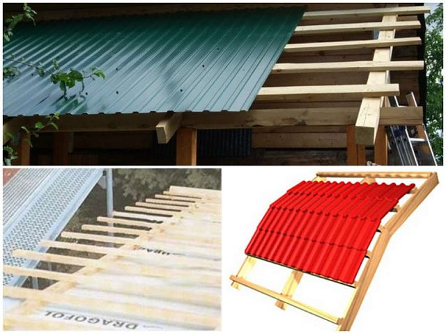 крыша веранды своими руками на даче