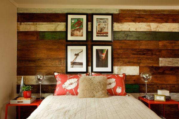 старая древесина в декоре стен
