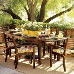 Обустройство места в саду для пикника