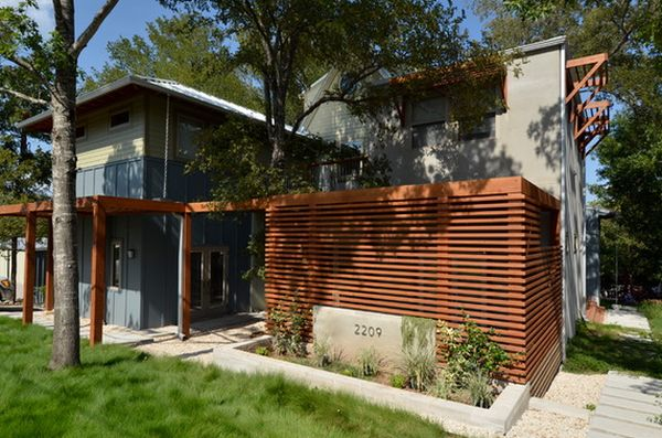 современный дизайн деревянного забора (11)