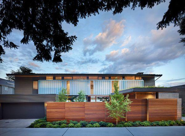 современный дизайн деревянного забора (8)