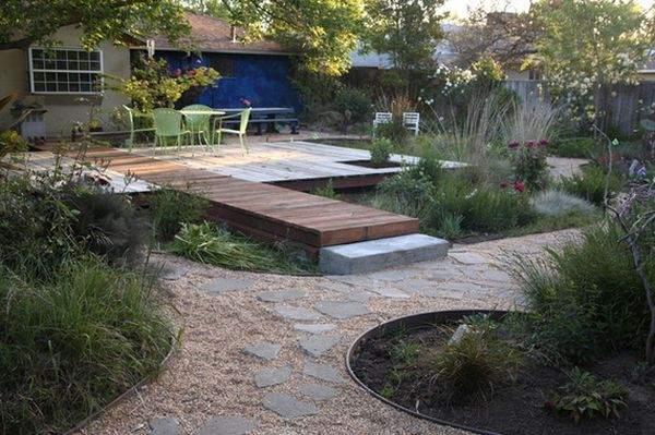 современные мостики для сада
