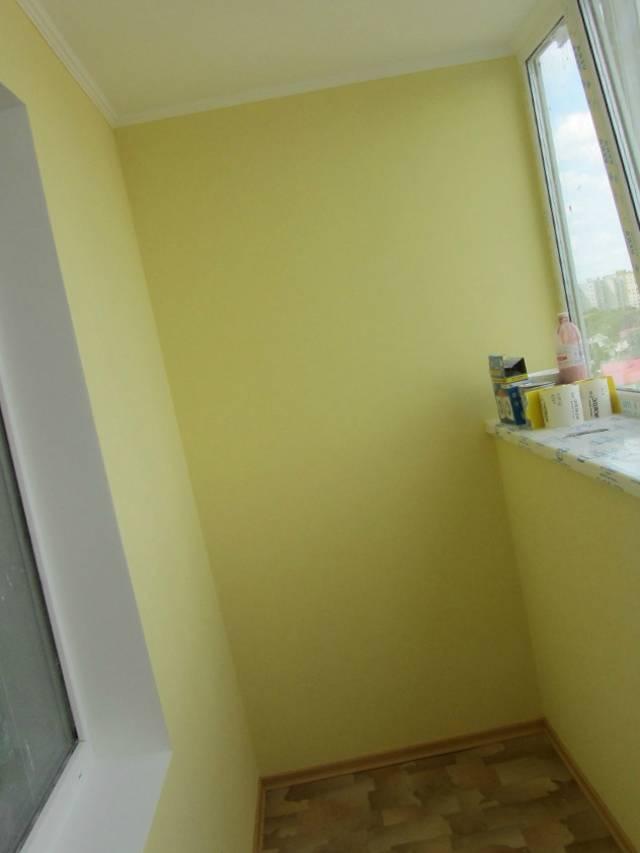 Покраска балкон своими руками.