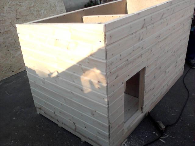 Как сделать будку для собаки размеры, чертеж, фото