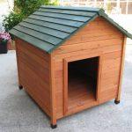 Как сделать будку (конуру) для собаки — размеры, чертеж, фото