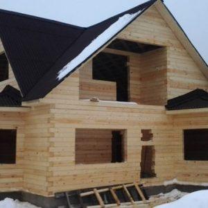 Усадка нового дома