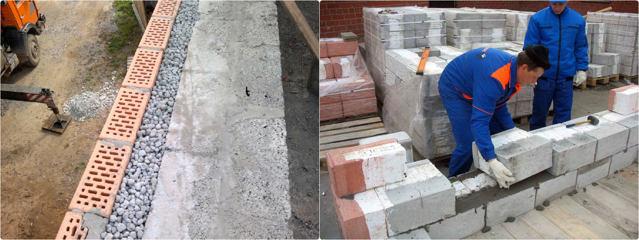 применение керамзита в строительстве