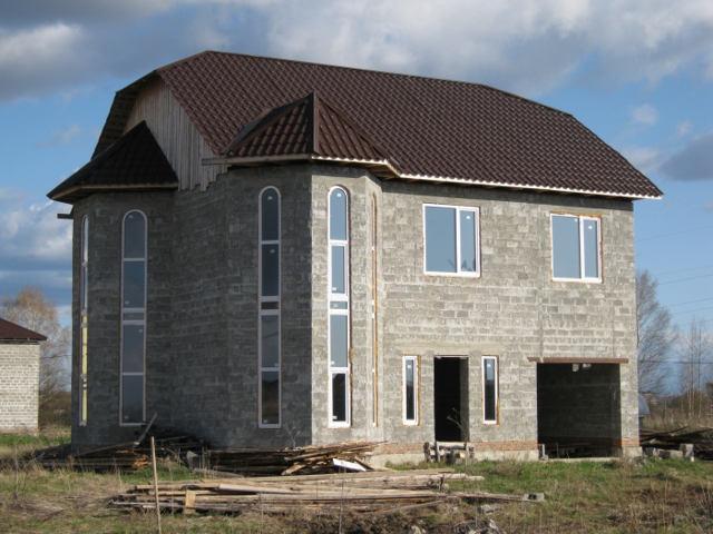 проекты домов из керамзитобетона