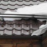 Устройства для задержания снега — снегозадержатели на крышу