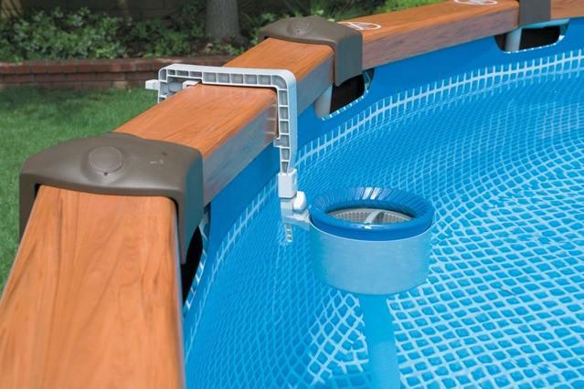 фильтрация воды сборного бассейна