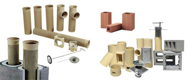 керамические модули дымохода