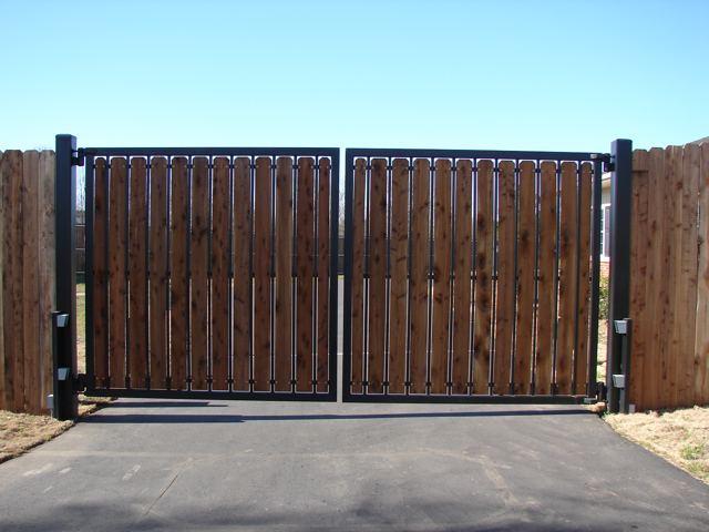 Леруа мерлен автоматические ворота