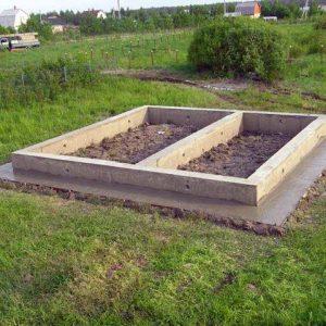 Ленточный фундамент под баню 6х4 своими руками