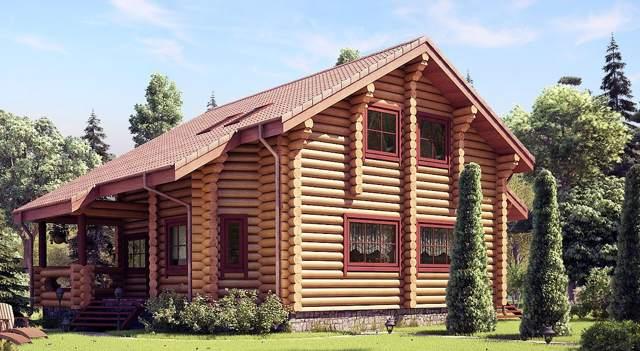 Дом из круглого бруса