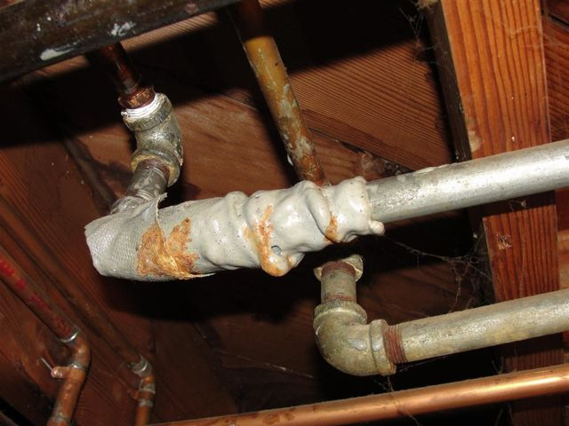 Ремонт водопровода в частном доме