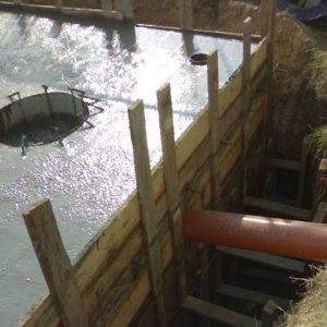 Септик для дачи из бетона