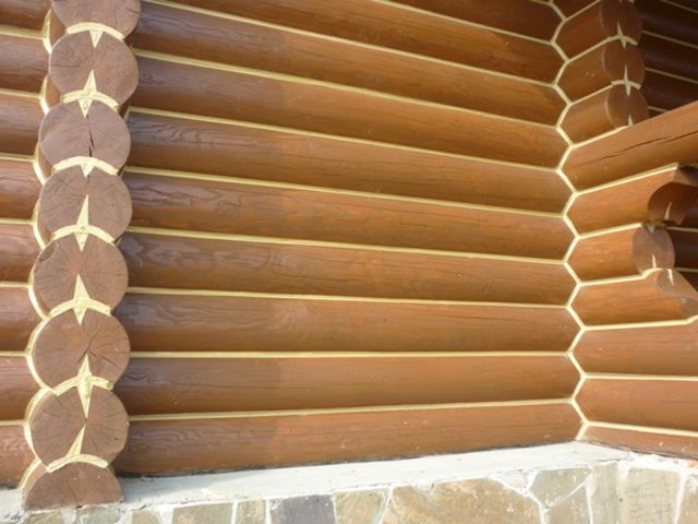 Герметик для заделки швов деревянного дома
