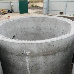 Колодезные кольца из бетона