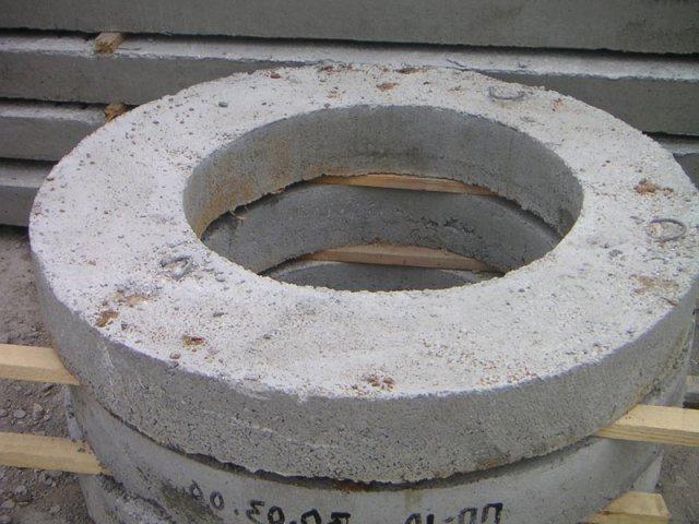 Опорное кольцо для колодца