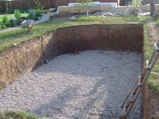 Песчаная подушка для бассейна