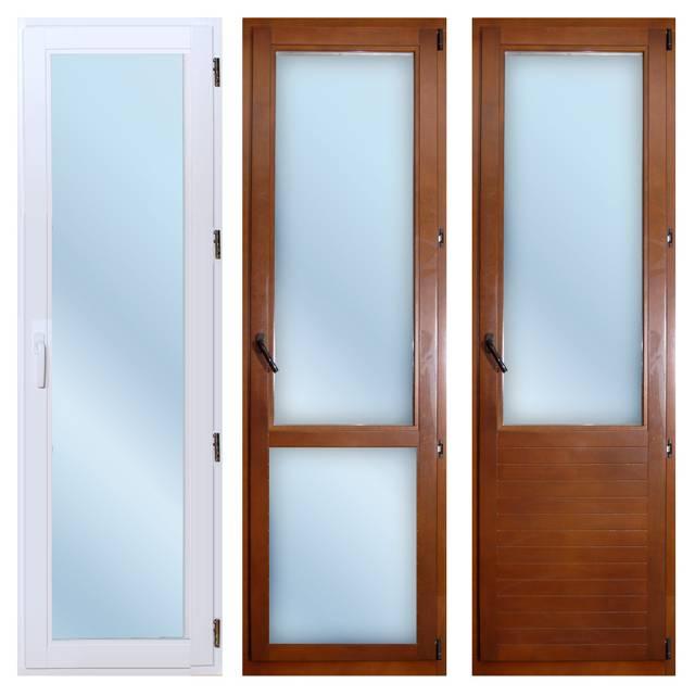 Двери из пластика